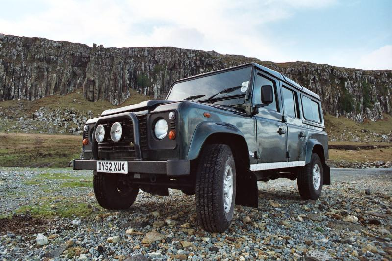 This was my first Defender, bought new in late 2002 from Stafford Land Rover