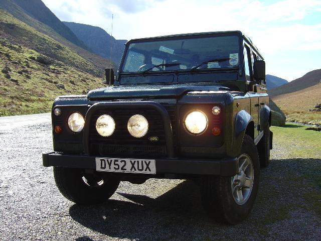 Land Rover Defender 110. Green Land Rover » Defender