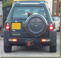 Freelander Lights Mod 1