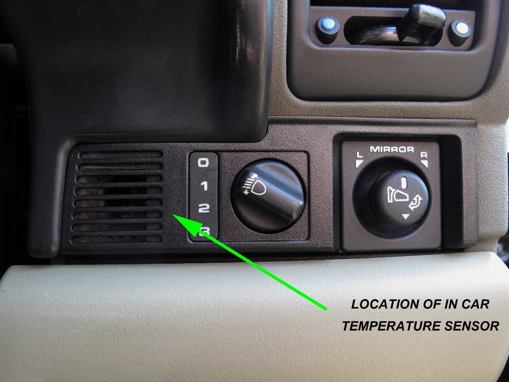 Mysterious Buzzing Sound Green Land Rover Relay Switch Location Of Intake Fan