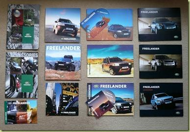 Freelander Brochures