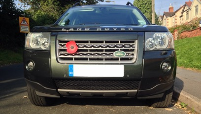 Fitting front bumper shields to Freelander 2