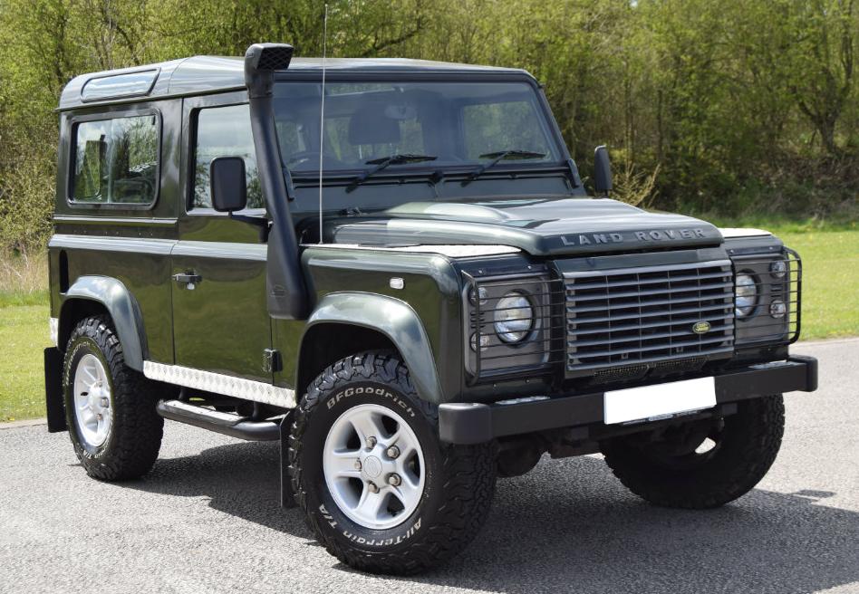 Defender Joins The Glr Fleet Green Land Rover