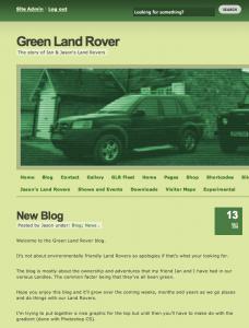 GLR First Post